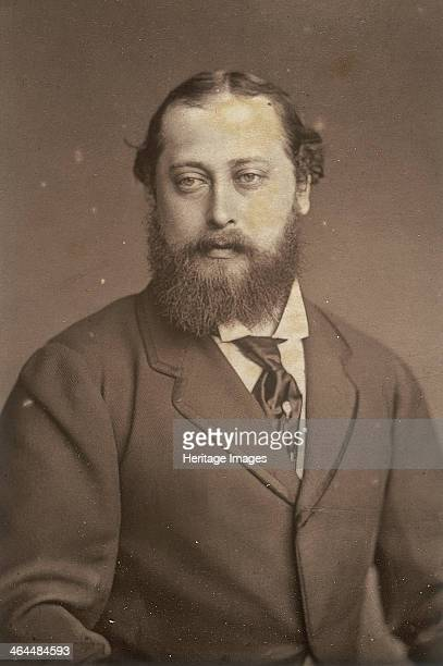 Edward Prince of Wales 1880s Portrait of Queen Victoria's son Edward Prince of Wales later King Edward VII