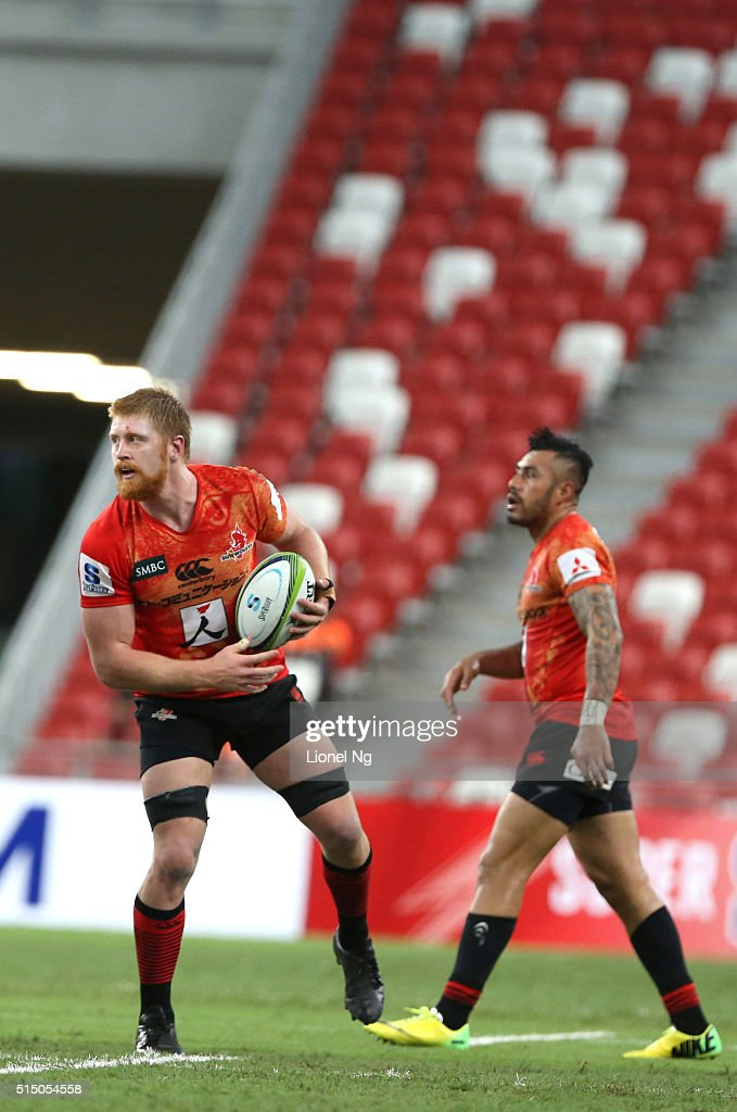 Super Rugby Rd 3 - Japan Sunwolves v Cheetahs