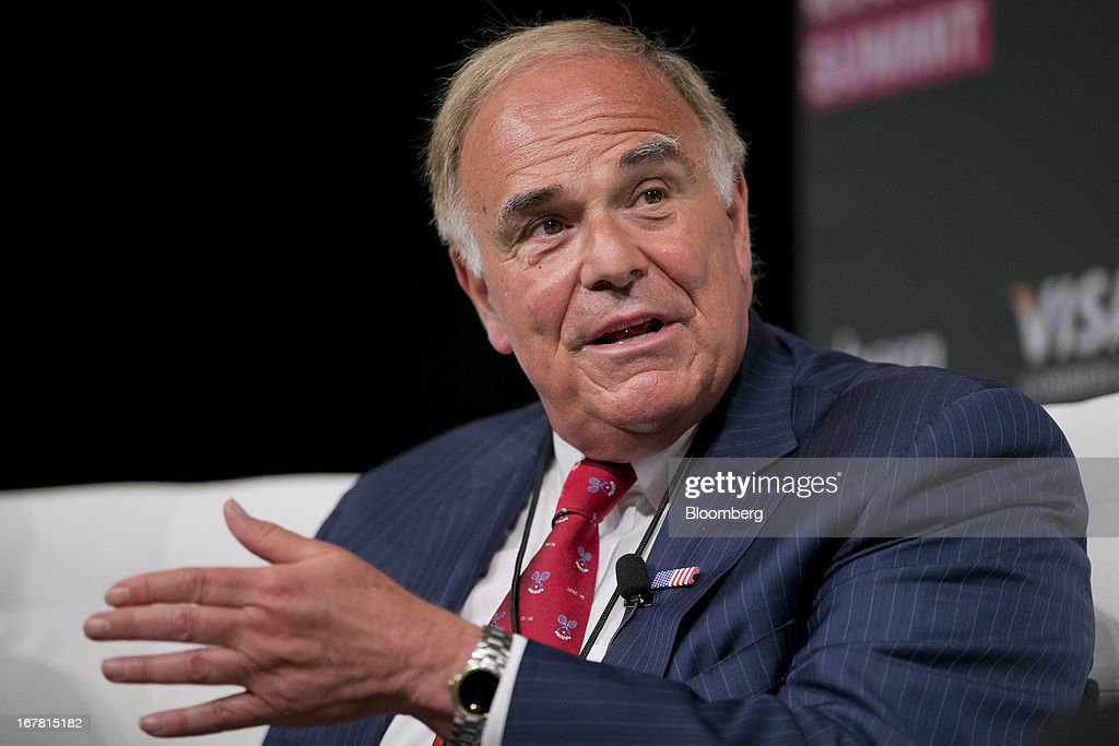 Edward Rendell, former governor of Pennsylvania and former chairman of the Democratic National Committee (DNC), speaks at the Bloomberg Link Economic Summit in Washington, D.C., U.S., on Tuesday, April 30, 2013. The Bloomberg Washington Summit gathers key administration officials, CEOs, governors, lawmakers, and economists to assess the economy and debate the path beyond the fiscal cliff. Photographer: Andrew Harrer/Bloomberg via Getty Images