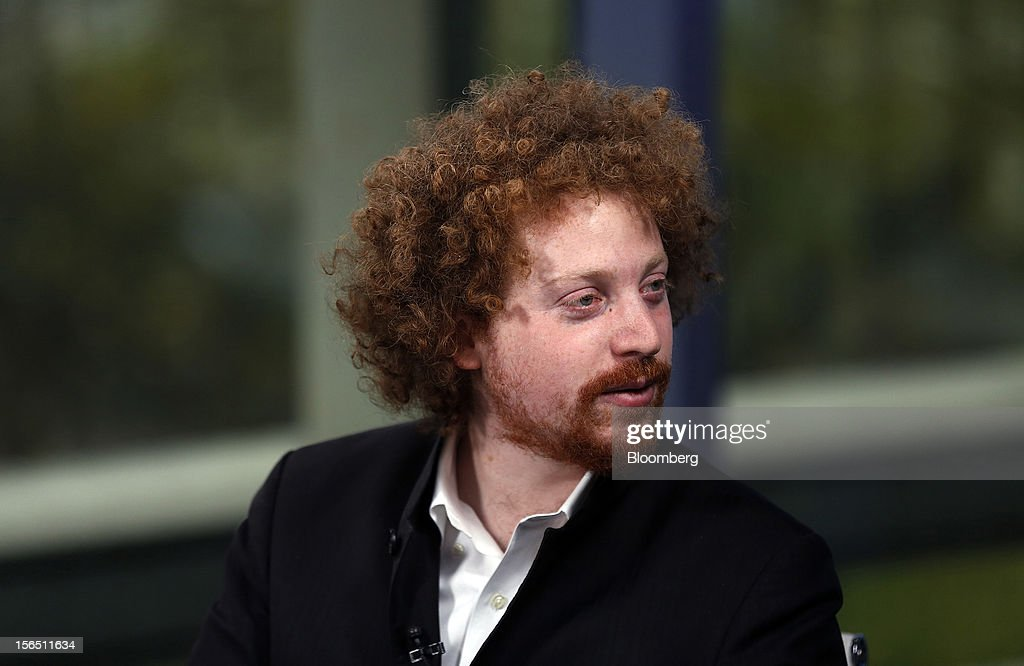 Edward Saatchi, chief executive officer of NationalField, pauses during a Bloomberg Television interview in London, U.K., on Friday, Nov. 16, 2012. NationalField is a startup tech company and following on its successful 2008 Obama campaign work, the company has returned to collaborate with the administration's 2012 efforts. Photographer: Simon Dawson/Bloomberg via Getty Images