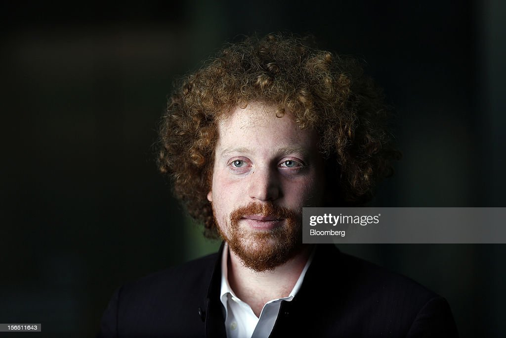 Edward Saatchi, chief executive officer of NationalField, poses for a photograph following a Bloomberg Television in London, U.K., on Friday, Nov. 16, 2012. NationalField is a startup tech company and following on its successful 2008 Obama campaign work, the company has returned to collaborate with the administration's 2012 efforts. Photographer: Simon Dawson/Bloomberg via Getty Images