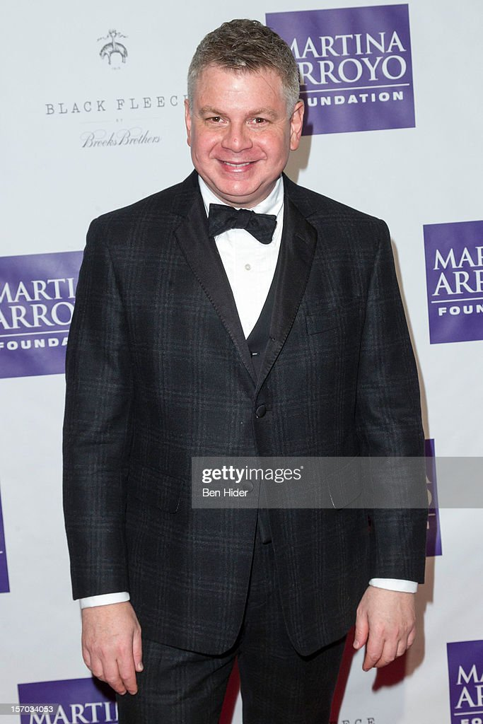 Edward Sadovnik of Brooks Brothers attends Martina Arroyo Annual Foundation Gala at 583 Park Avenue on November 27, 2012 in New York City.