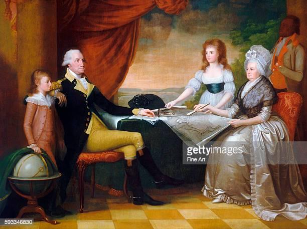Edward Savage The Washington Family 178996 oil on canvas 2136 x 2842 cm National Gallery Washington DC