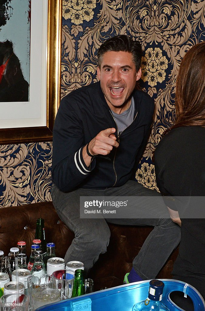 Edward Taylor attends the launch of MODE in Notting Hill on April 4, 2014 in London, England.