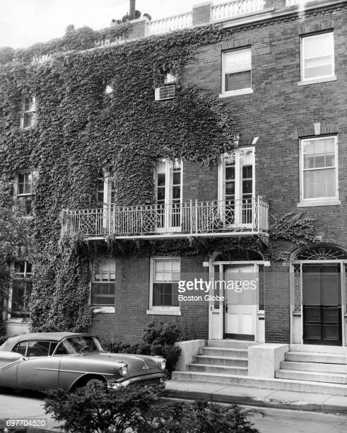 Edward 'Ted' Kennedy's new home at the Riverway in Boston June 15 1961