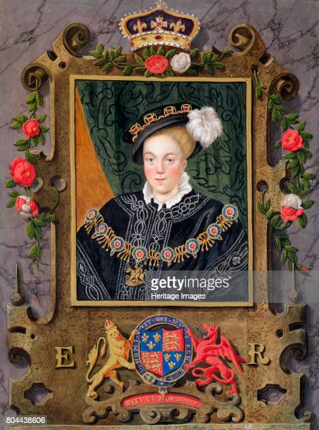 Edward VI King of England Portrait of Edward aged about 14 The son of Henry VIII and Jane Seymour he became king in 1547 when just 9 years old His...