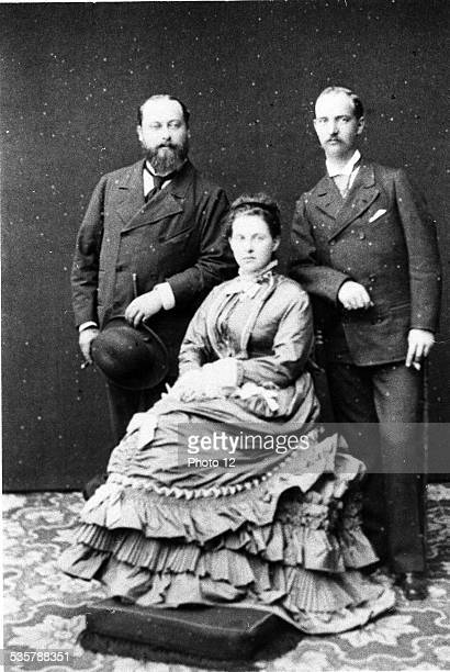 Edward VII King of Great Britain and Ireland son of Queen Victoria and Prince Albert of SaxeCoburgandGotha Married Alexandra née Princess of Denmark...
