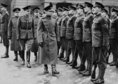 Edward Viii King Of The United Kingdom Inspecting Soldiers From Irish Guards On February 14Th 1940