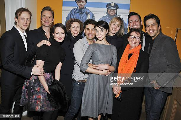 Edward Watson Christopher Wheeldon Lauren Cuthbertson Veanne Cox Brandon Uranowitz Leanne Cope Jill Paice Max von Essen and Robert Fairchild attend...
