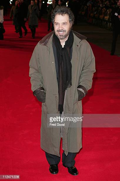 Edward Zwick attends the European Premiere of Defiance at the Odeon Leicester Square on January 6 2009 in London England