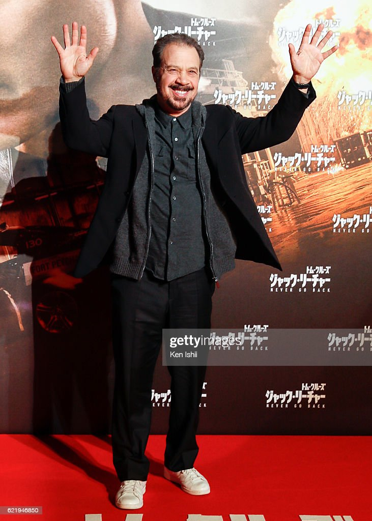 Edward Zwick attends the Tokyo Premiere of the Paramount Pictures' 'Jack Reacher: Never Go Back' on November 9, 2016 at Toho Cinemas Roppongi Hills on November 9, 2016 in Tokyo, Japan.