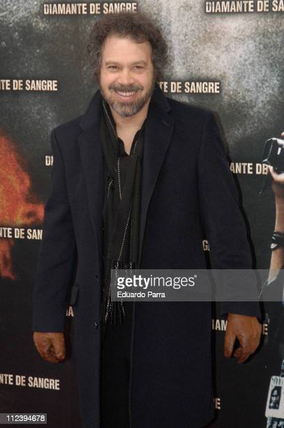 Edward Zwick during 'Blood Diamond' Premiere Madrid January 26 2007 in Madrid Spain