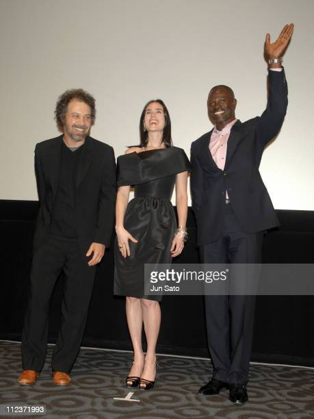 Edward Zwick Jennifer Connelly and Djimon Hounsou