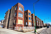 'Edwardian Flats in East Garfield Park, Chicago'