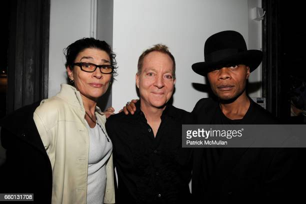 Edwige Belmore Fred Schneider and Karlo Steel attend ROGER PADILHA MAURICIO PADILHA Celebrate Their Rizzoli Publication THE STEPHEN SPROUSE BOOK...