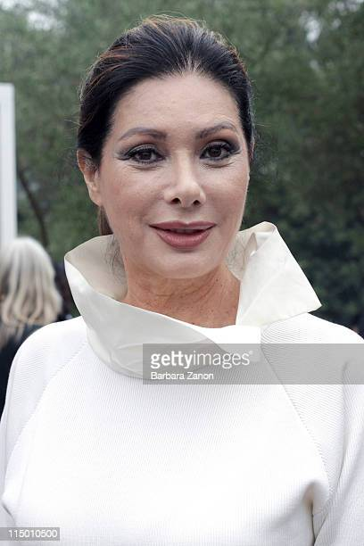 Edwige Fenech attends the the International Art Biennale on June 1 2011 in Venice Italy The Venice Art Biennale will run from 4 June to November 27...