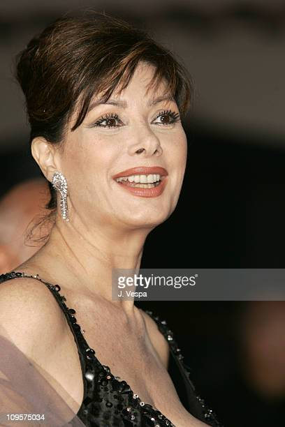 Edwige Fenech during 2004 Venice Film Festival 'The Merchant Of Venice' Premiere at Palazzo Del Cinema in Venice Lido Italy