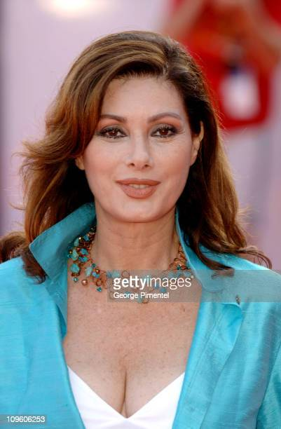 Edwige Fenech producer during 2005 Venice Film Festival 'Fragile' Premiere at Palazzo del Cinema in Venice Lido Italy