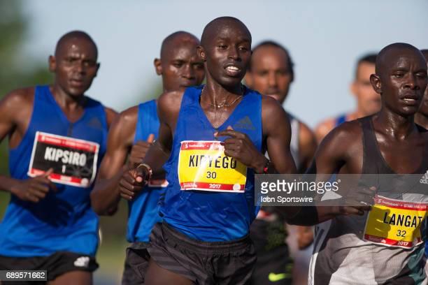 Edwin Kipyego of Kenya pacing in the Ottawa Marathon road race during the Tamarack Ottawa Race Weekend The Ottawa Marathon is part of the...