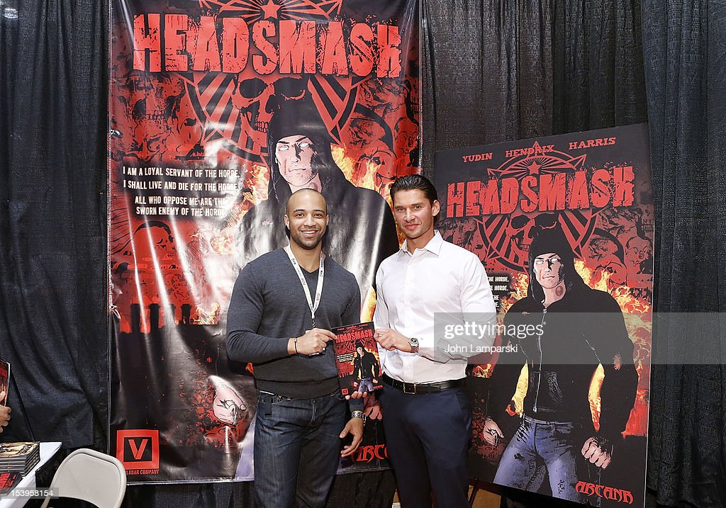 The Vlador Company And Arcana Comics Present The 1st Edition Of HEADSMASH