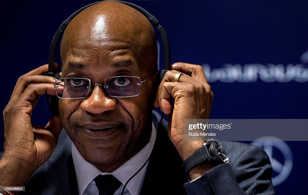 <a gi-track='captionPersonalityLinkClicked' href=/galleries/search?phrase=Edwin+Moses+-+Atleta&family=editorial&specificpeople=206882 ng-click='$event.stopPropagation()'>Edwin Moses</a> during a press conference to announce the Nominees for the 2012 Laureus World Sports Awards at Windsor Atlantica Hotel on December 13, 2012 in Rio De Janeiro, Brazil. The Laureus World Sports Awards is recognised as the premier honours event in the international sporting calendar as stars of the sporting world come together to salute the finest sportsmen and sportswomen of the year.