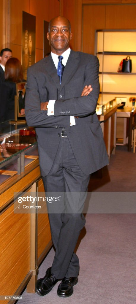 Nadia Comeneci and Edwin Moses at Cartier for a Special Shopping Event to