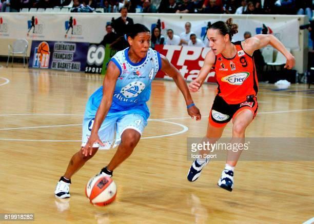 Edwina BROWN / Celine DUMERC Bourges / Saint Amand 1e journee Ligue Feminine