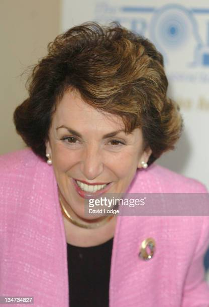 Edwina Currie during The Life After Stroke Awards 2005 at Park Lane Hilton Hotel in London Great Britain