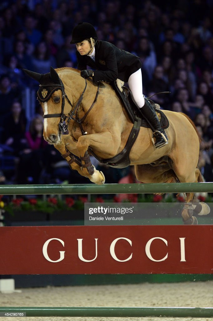 Edwina Tops-Alexander attends day 4 of the Gucci Paris Masters 2013 at Paris Nord Villepinte on December 8, 2013 in Paris, France.