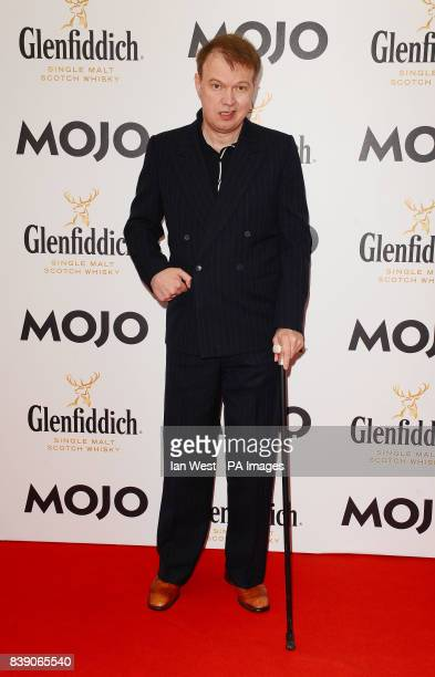 Edwyn Collins arrives at the Mojo Awards at the Brewery in London