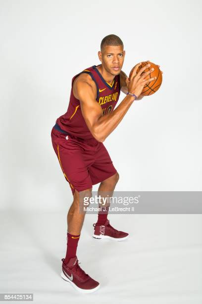 Edy Tavares of the Cleveland Cavaliers poses for a portrait during the 201718 NBA Media Day on September 25 2017 at Quicken Loans Arena in Cleveland...