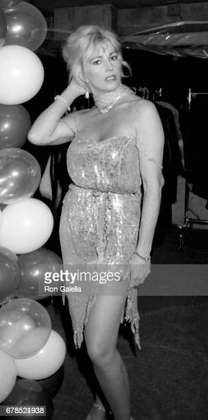 Edy Williams attends 'The Naked Cage' Screening on February 22 1986 at the Cannon Theater in Hollywood California