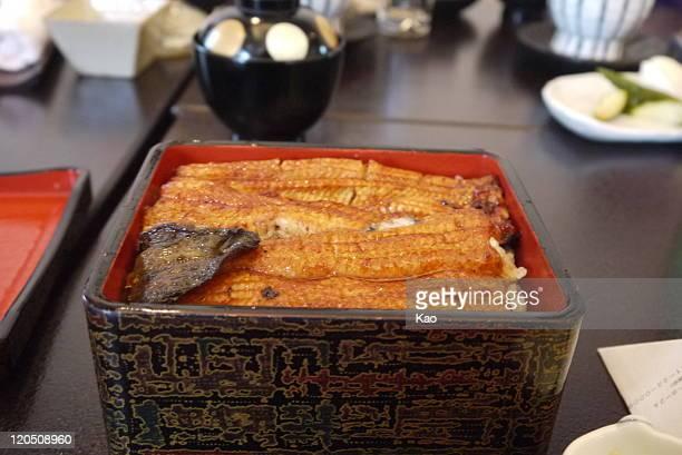Eel dish