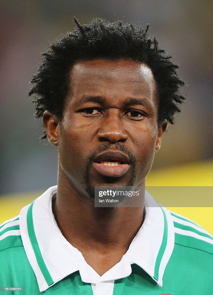 Efe Ambrose of Nigeria during the 2013 Africa Cup of Nations Final match between Nigeria and Burkina at FNB Stadium on February 10, 2013 in Johannesburg, South Africa.