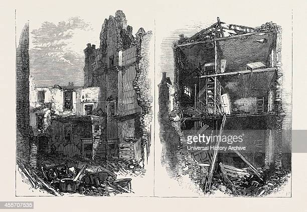 Interiors Of Houses In Corporation Lane London Uk 1867