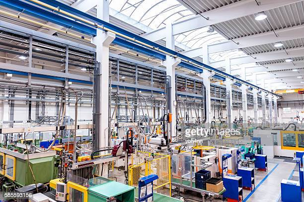 Efficiency of injection moulding technology