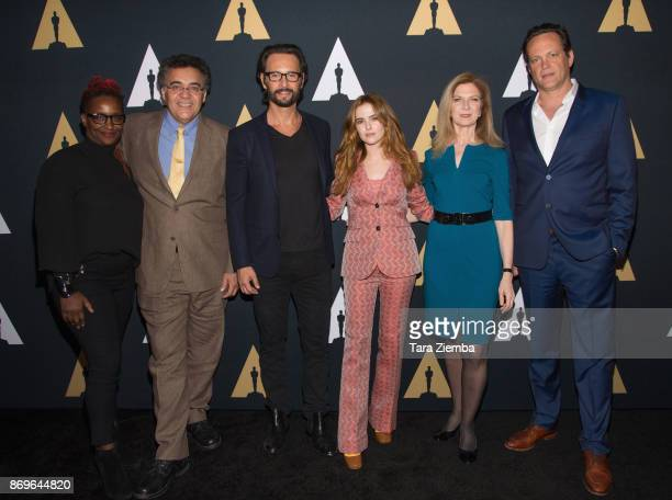 Effie Brown Rodrigo Garcia Rodrigo Santoro Zoey Deutch Dawn Hudson and Vince Vaughn attend the Academy Nicholl Fellowships in Screenwriting Awards...