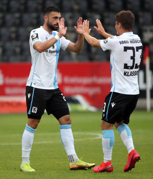 DEU: SG Sonnenhof Grossaspach v TSV 1860 Muenchen - 3. Liga