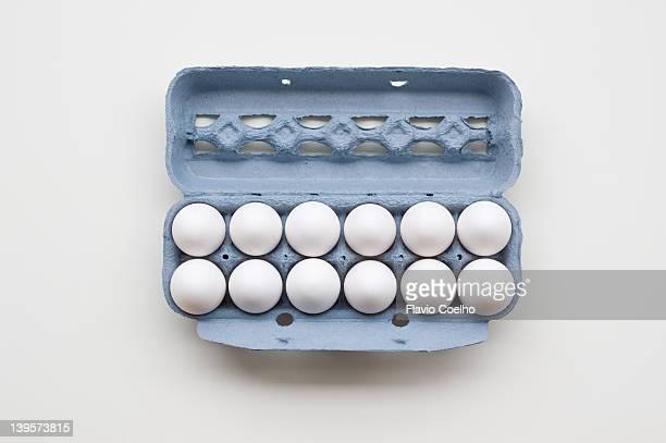 Egg box - filled