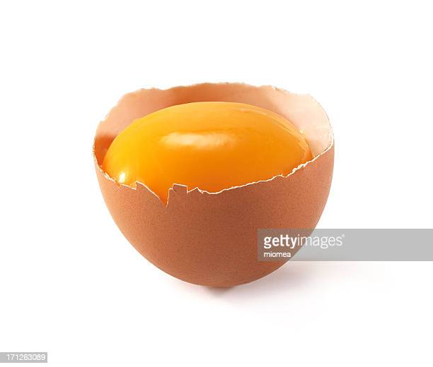 egg cut in half