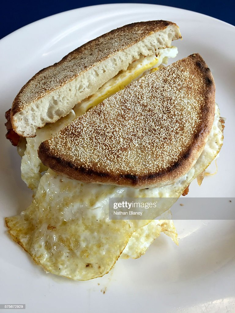 Egg sandwich : Stock Photo