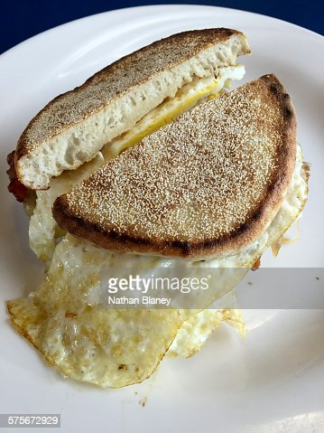 Egg sandwich : Stock Photo