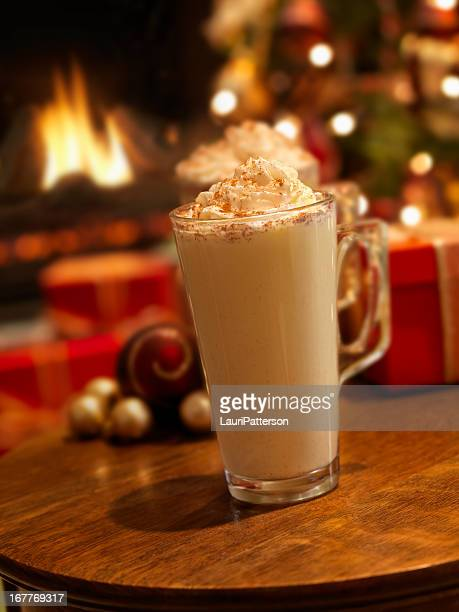 Eggnog in der Weihnachtszeit