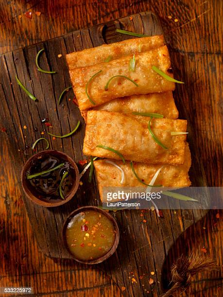 Eggrolls with Dipping Sauces