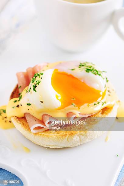 Eggs Benedict Sandwich for Breakfast