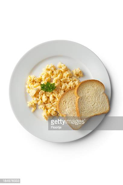 Eggs: Scrambled Egg and Toast