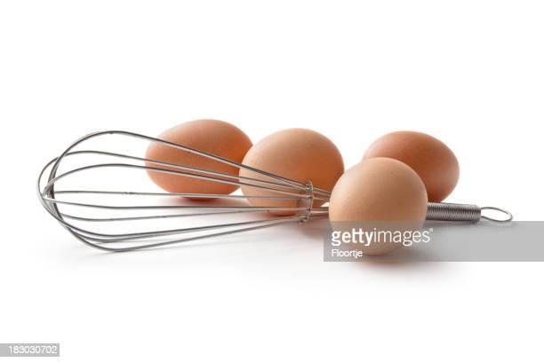 Eier: Whisk und Eier