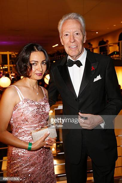 Egon F Freiheit and Amira attend the 22nd Opera Gala at Deutsche Oper Berlin on November 7 2015 in Berlin Germany