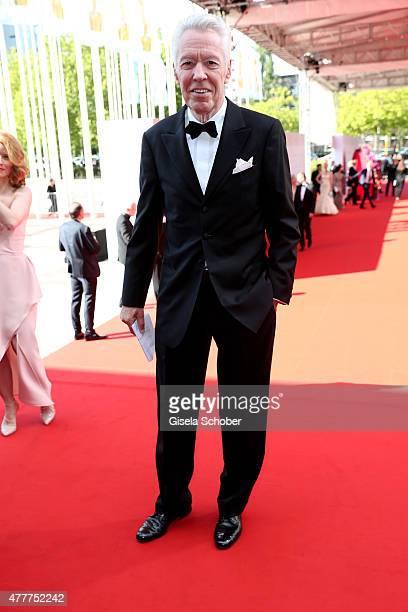 Egon F Freiheit arrives for the German Film Award 2015 Lola at Messe Berlin on June 19 2015 in Berlin Germany