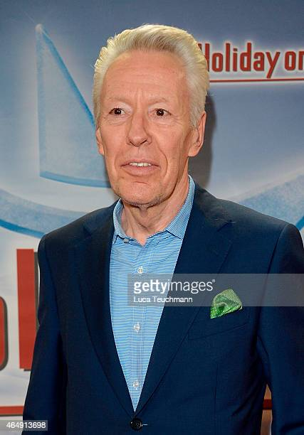 Egon F Freiheit attends Holiday on Ice Platinum Show Premiere at Tempodrom on March 1 2015 in Berlin Germany